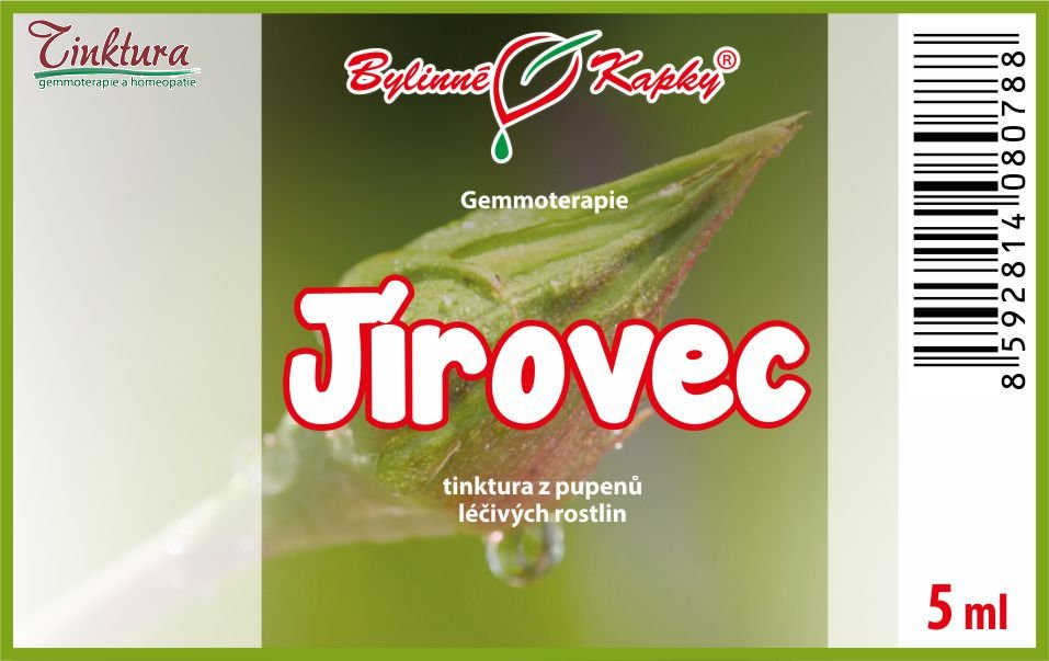 Jírovec 5 ml - (gemmoterapie)