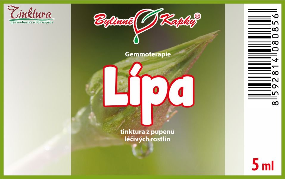 Lípa 5 ml - (gemmoterapie)