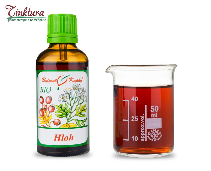 Hloh list + květ - 50 ml - (bio)