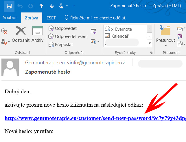 emailová schránka